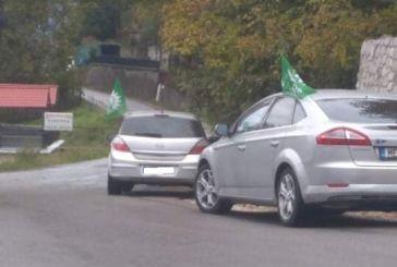 Επιτέλους! Ξανά στους δρόμους της Αιτωλοακαρνανίας αυτοκίνητα με σημαίες ΠΑΣΟΚ!