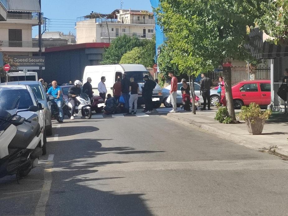 Αγρίνιο: Παράσυρση 68χρονης στην οδό Μακρή