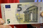 Αυτό είναι το νέο χαρτονόμισμα των 5 ευρώ με την υπογραφή της Κριστίν Λαγκάρντ