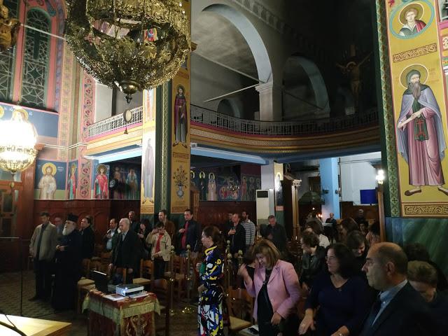 Εκδήλωση του Ι.Ν. Αγίας Τριάδας Αγρινίου αφιερωμένη στο Έπος του ΄40