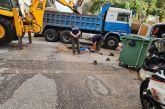 Aγρίνιο: οδηγοί προσοχή, σπάσιμο αγωγού στη  διασταύρωση Κοσμά Αιτωλού – Βλαχογιάννη