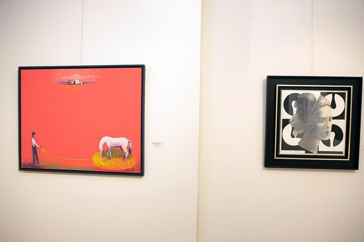 Στο Εθνικό Κέντρο Τεκμηρίωσηςη μόνιμη συλλογή έργων τέχνης της Δημοτικής Πινακοθήκης Αγρινίου