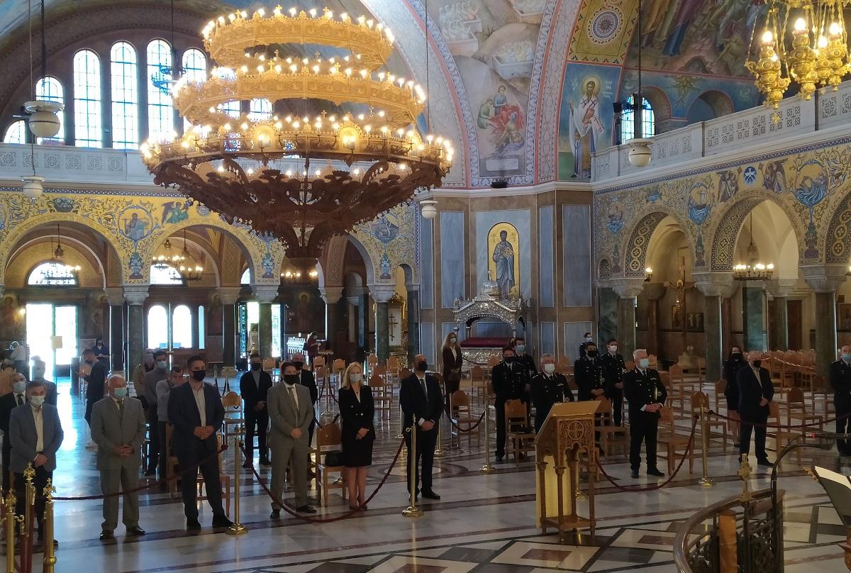 Η Αστυνομία γιόρτασε τον προστάτη της Άγιο Αρτέμιο και σε Αγρίνιο – Μεσολόγγι