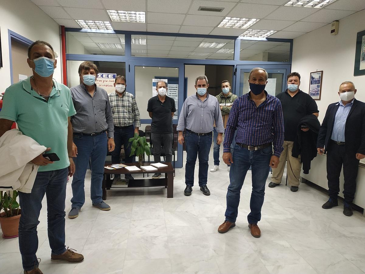 Εργασιακά θέματα και προβλήματα στο επίκεντρο της συνάντησης Εργατικών Κέντρων στο Αίγιο