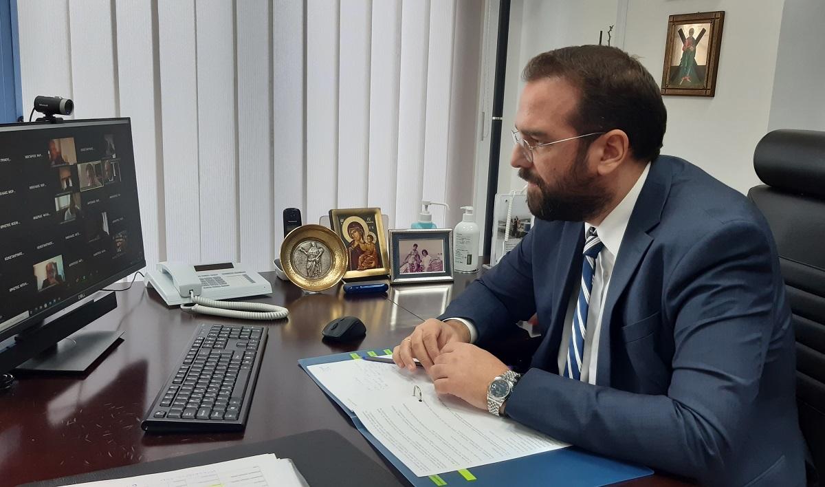 Περιφερειακό Συμβούλιο: Ενημέρωση για την πανδημία και τις δράσεις της Περιφέρειας