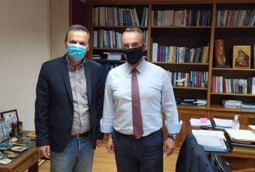 Με τον Υπουργό Οικονομικών συναντήθηκε ο Δήμαρχος Αγράφων