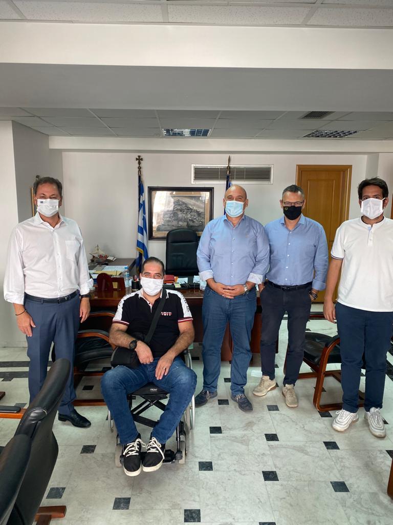 Επίσκεψη Λιβανού στο δημαρχείο Ναυπακτίας