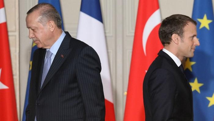 Η Γαλλία ανακαλεί τον πρέσβη της στην Άγκυρα – Μακρόν: «Επικίνδυνη η πολιτική Ερντογάν»