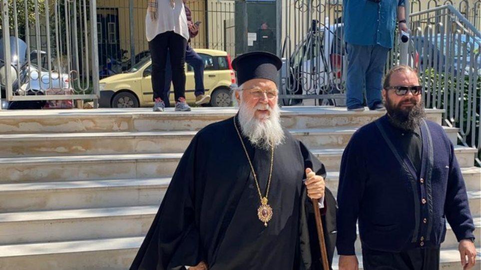 Κορωνοϊός: Αθώος ο Μητροπολίτης Κέρκυρας για δυο υποθέσεις