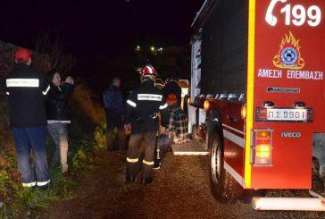 51χρονος τραυματίας σε εκτροπή οχήματος στο δρόμο Σιταράλωνα-Θέρμο