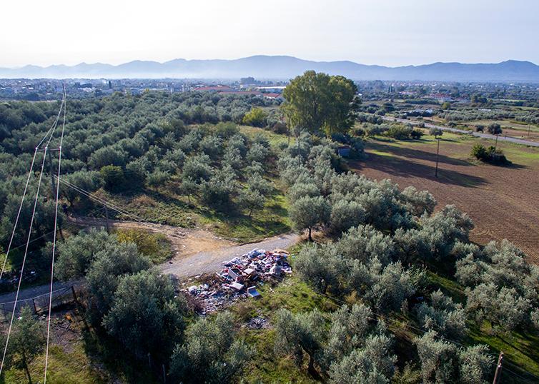Σκουπιδότοπος και στο…αρχαίο Αγρίνιο