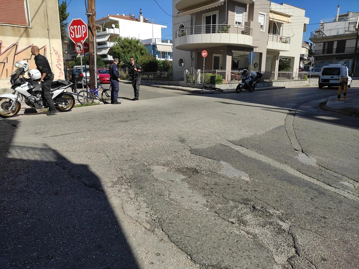 Αγρίνιο: παράσυρση ανήλικου ποδήλατη στη διασταύρωση Αχελώου-Βλαχερνών
