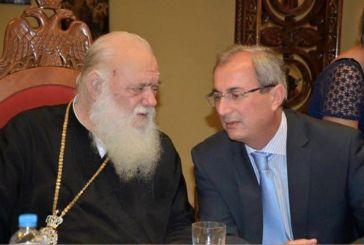 """""""Να ξεχωρίσουμε τη θεολογία από την ιατρική"""", λέει με…νόημα ο δήμαρχος Θέρμου- Ευχές σε Ιερώνυμο"""