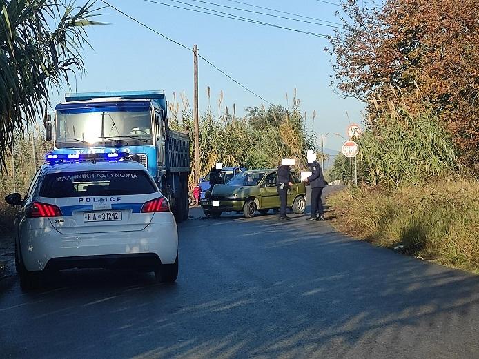 Δύο ελαφρά τραυματίες σε τροχαίο στο Ψηλογέφυρο