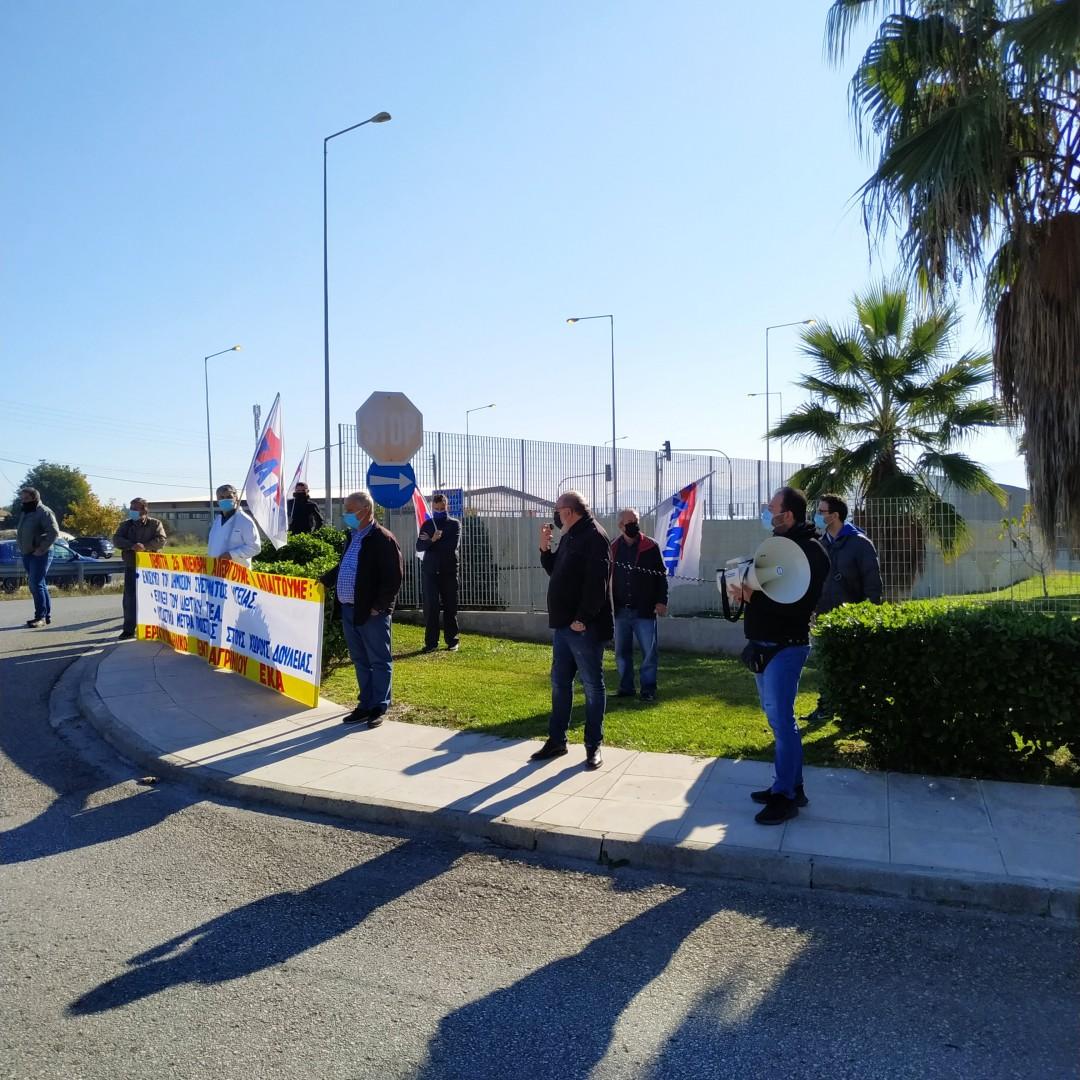 Αγρίνιο: Παραστάσεις διαμαρτυρίας του Εργατικού Κέντρου σε Νοσοκομείο και Κέντρο Υγείας