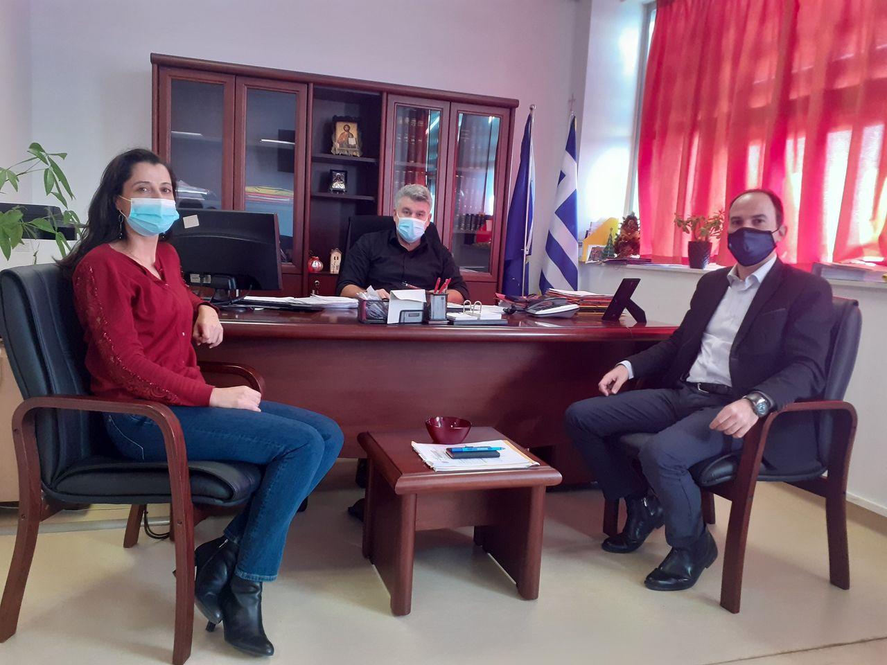 Στο Νοσοκομείο Αγρινίου ο Αντιπεριφερειάρχης Λ.Δημητρογιάννης για τη διαχείριση των αποβλήτων