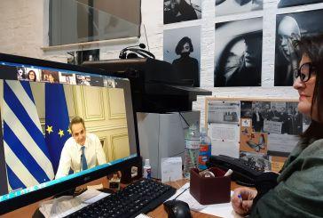 Συνδέθηκε με Αγρίνιο ο Μητσοτάκης συζητώντας για την εξάλειψη της βίας κατά των γυναικών