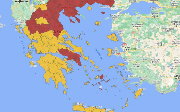 Κορωνοϊός: Σε τρεις ζώνες η Ελλάδα – Πώς θα χωρίζονται και οι «γκρι» περιοχές
