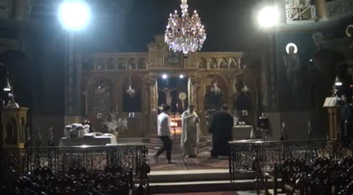Αγρίνιο: Αγρυπνία εν μέσω πανδημίας σε εκκλησία (βίντεο)