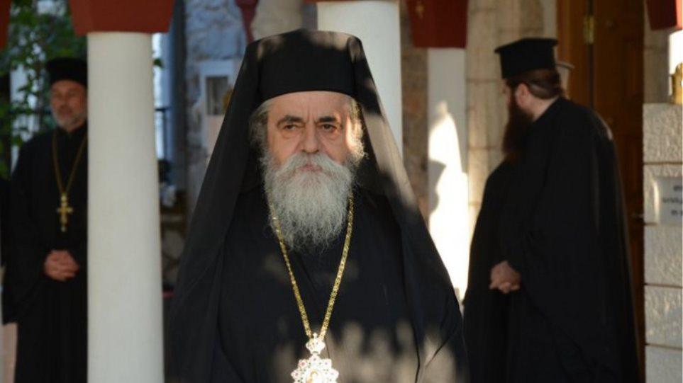 Ηλεία: Θετικός στον κορωνοϊό ο Επίσκοπος Ωλένης Αθανάσιος