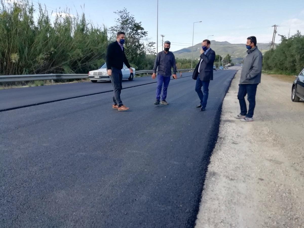 Ολοκληρώνεται η πρώτη φάση του οδικού τμήματος Διασελλάκι-Πέρκος