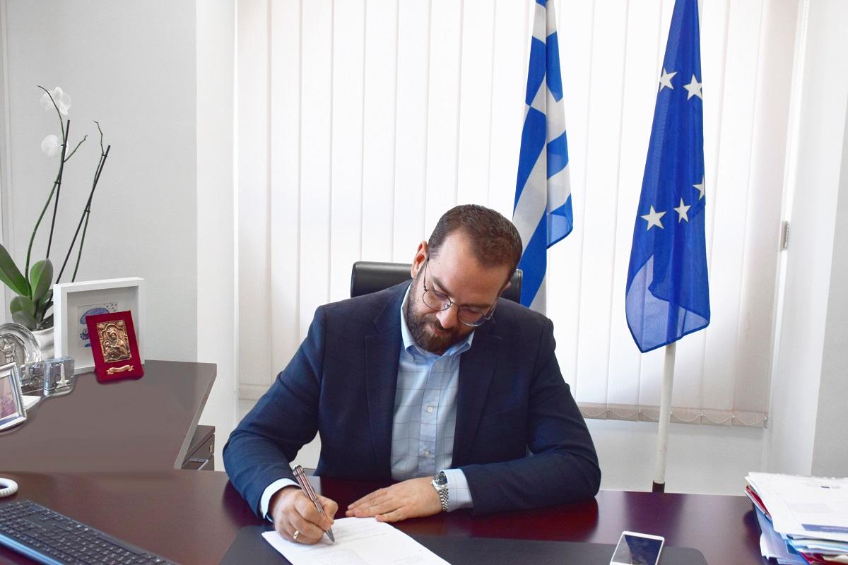 Ν. Φαρμάκης: «Το 2021 να φέρει σε όλους όσα στερηθήκαμε και ακόμα περισσότερα…»