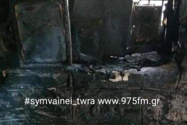 """Φωτιά κατέστρεψε το εκκλησάκι στα """"Πατήματα της Παναγίας"""""""