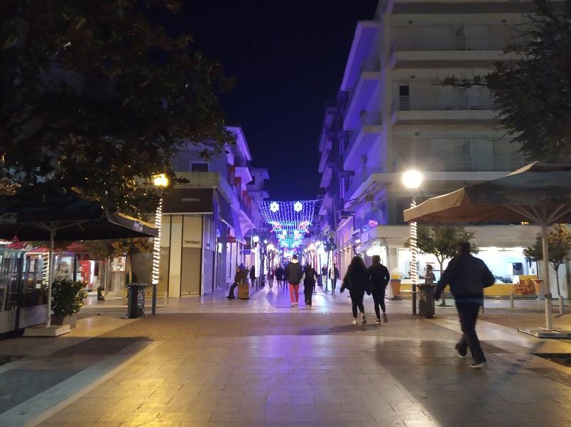 Αγρίνιο: 300 έλεγχοι, ένα πρόστιμο ανήμερα των Χριστουγέννων