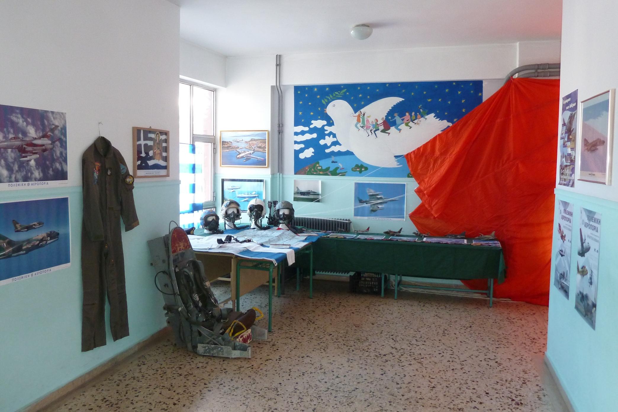 Αφιέρωμα στην εορτή της πολεμικής Αεροπορίας στο 1ο Δημοτικό σχολείο Αγίου Κωνσταντίνου Αγρινίου