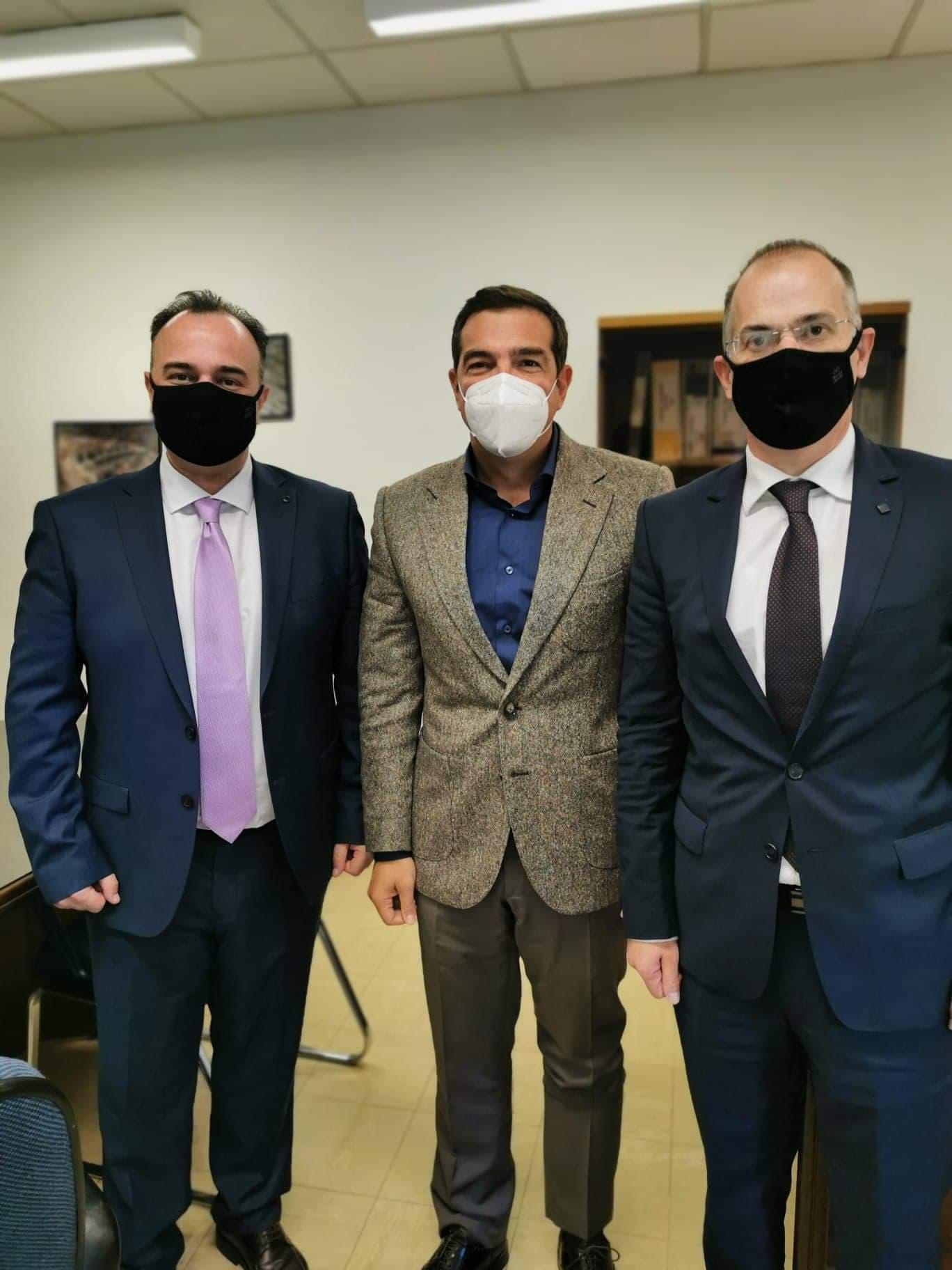 Στο Πανεπιστημιακό Νοσοκομείο Ιωαννίνων  ο Αλ. Τσίπρας