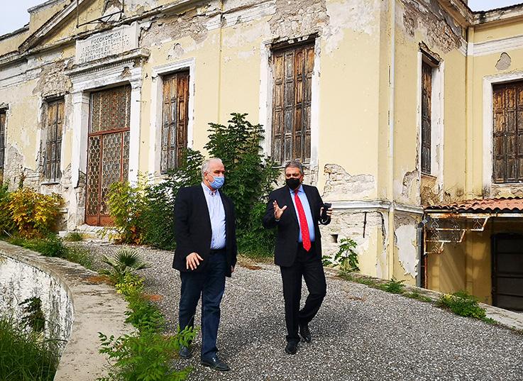 Στο Μεσολόγγι ο διοικητής της 6ης ΥΠΕ – συζητήσεις για την διάσωση και αξιοποίηση του παλιού νοσοκομείου