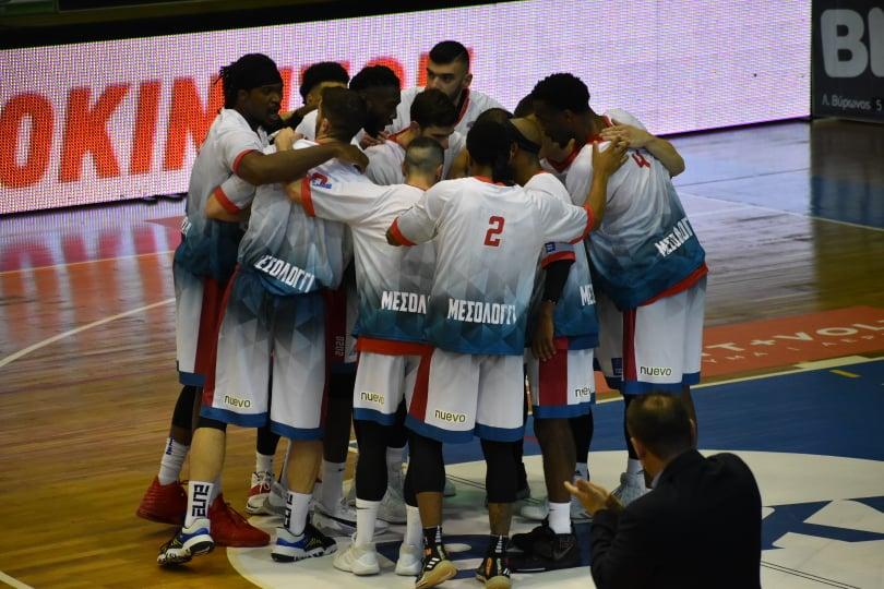 «Εκκωφαντικό» ξεκίνημα του Μεσολογγίου στην Basket League!