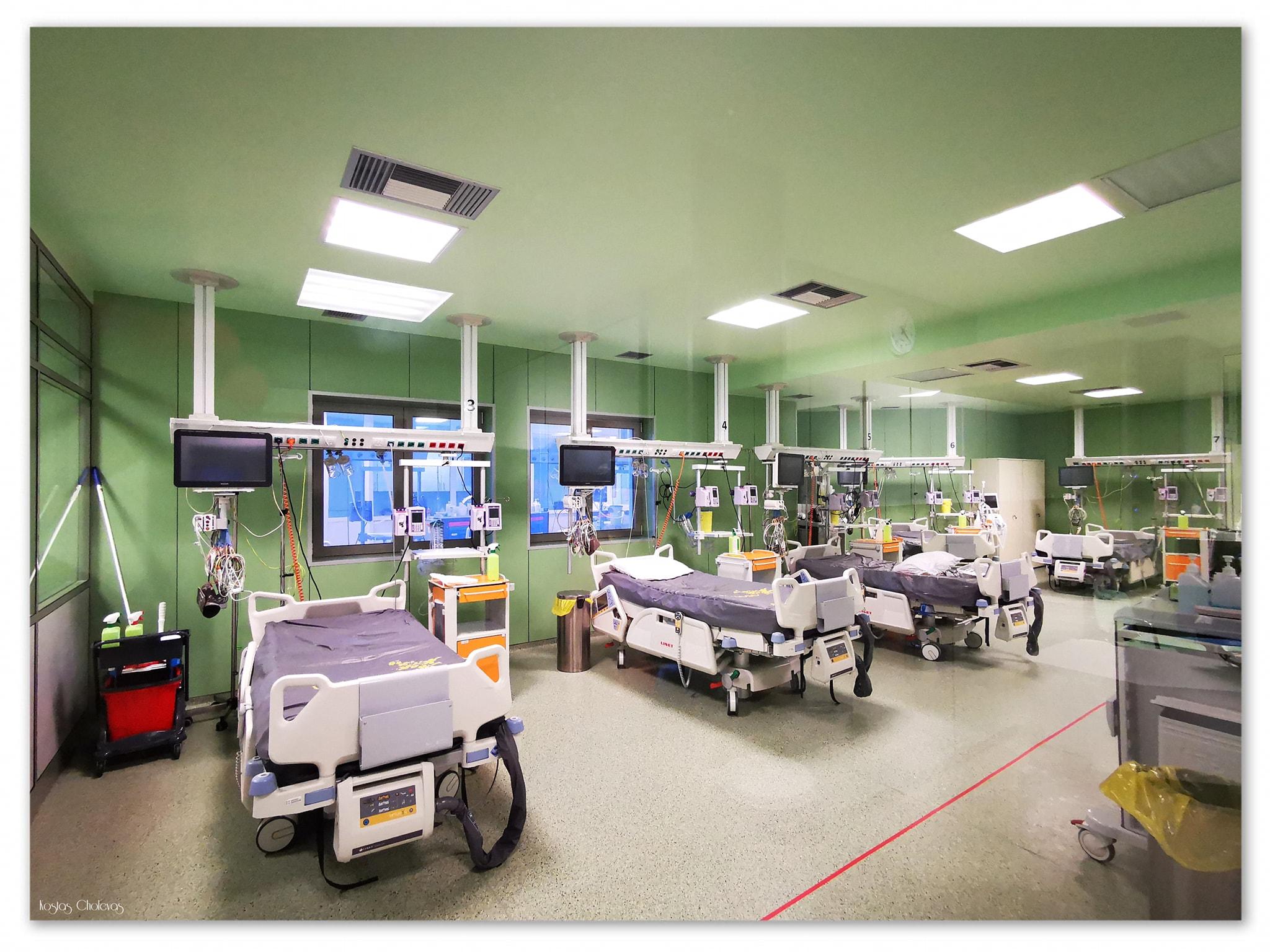 Ενεργοποιείται δεύτερη ΜΕΘ COVID στο Πανεπιστημιακό Νοσοκομείο Ιωαννίνων