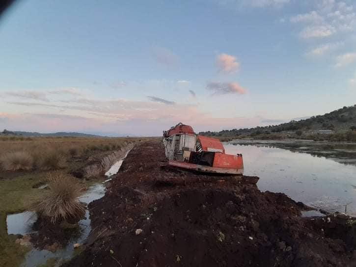 Καταγγέλλει μπάζωμα σε υγρότοπο ο Φορέας Διαχείρισης Λιμνοθάλασσας Μεσολογγίου