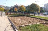 Aγρίνιο: ξήλωσαν πράσινο και στην πλατεία Βελουχιώτη για σταθμό ποδηλάτων