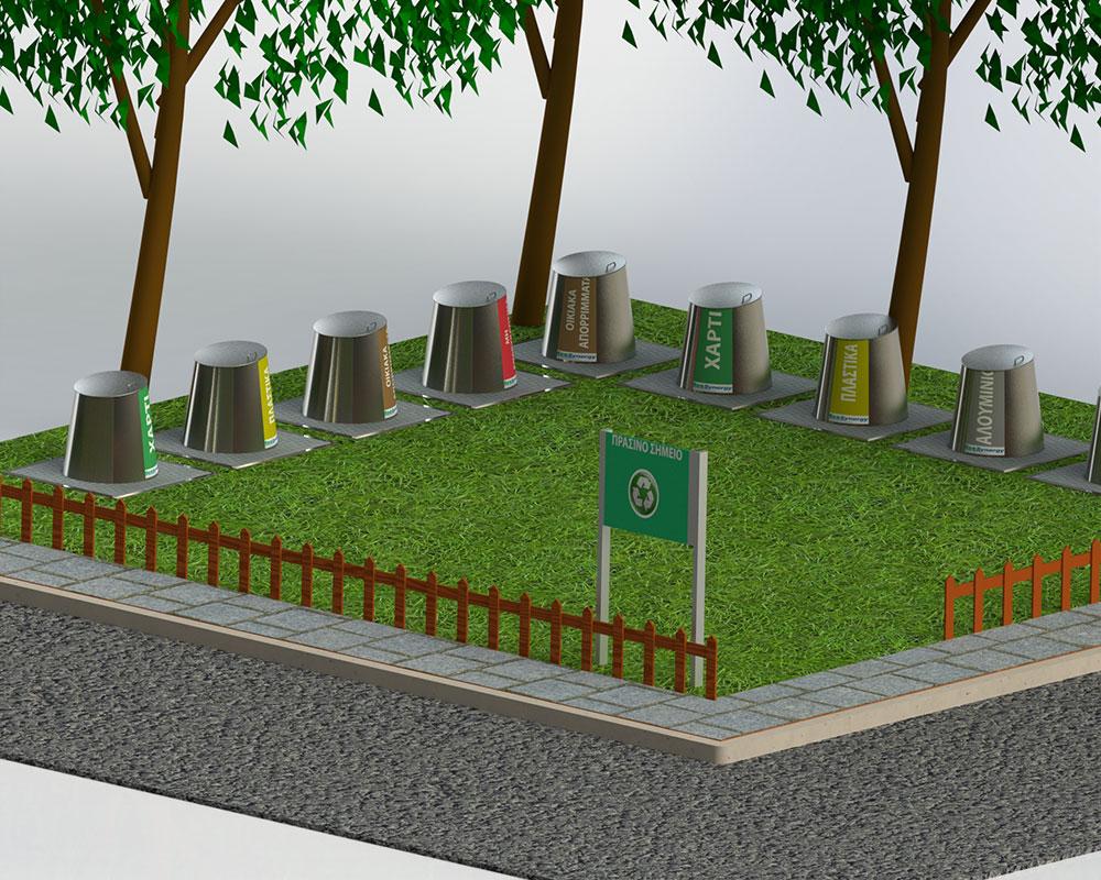 Εντάχθηκε προς χρηματοδότηση το «Πράσινο Σημείο» του Δήμου Ναυπακτίας