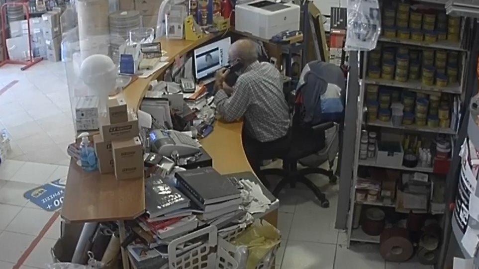 Βίντεο σοκ από τον σεισμό στη Σάμο!