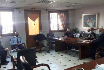 Σύσκεψη στο Δημαρχείο Ναυπακτίας για τον κορωνοϊό