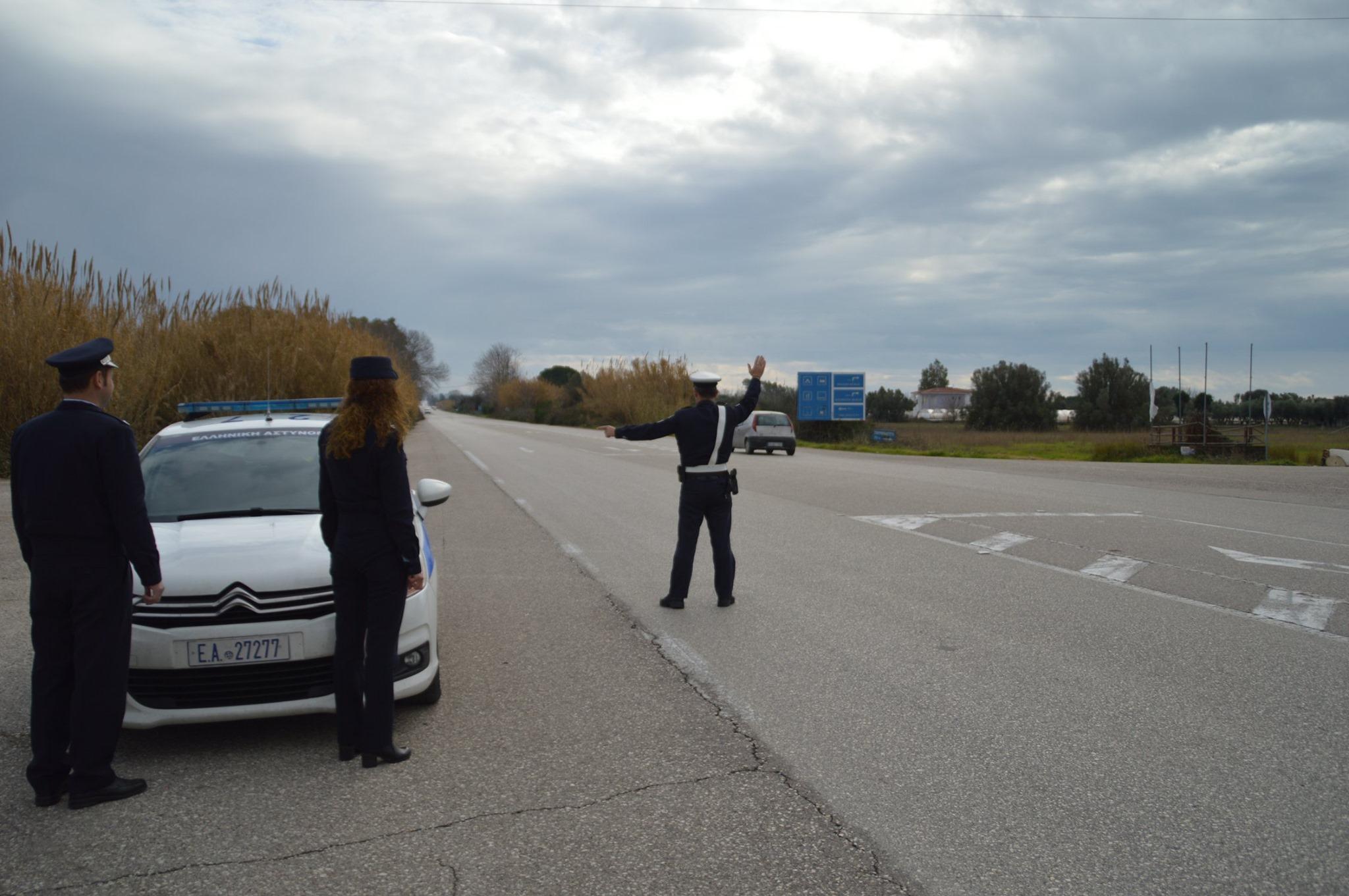 Αιτωλοακαρνανία: Τέσσερις συλλήψεις οδηγών χωρίς διπλώματα