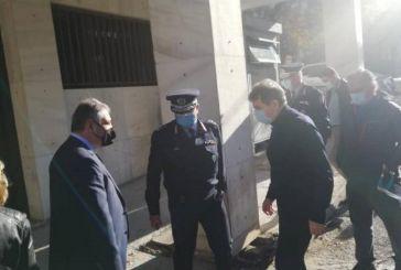 Στην Πάτρα ενόψει Αγίου Ανδρέα ο Χρυσοχοΐδης- Σύσκεψη με Φαρμάκη, Πελετίδη, Καρβέλη