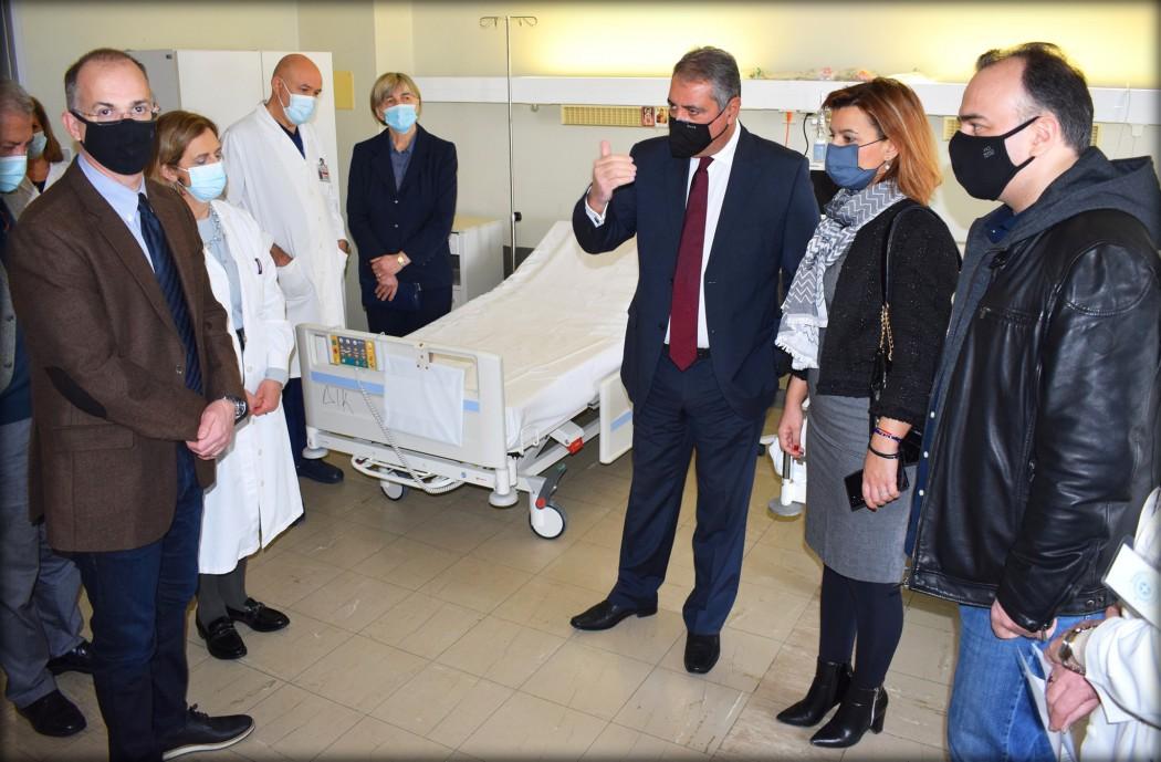 Εμβόλιο: Άσκηση προσομοίωσης του εμβολιασμού έγινε στο Νοσοκομείο Ιωαννίνων