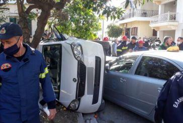 Μεσολόγγι: σοκαριστικό τροχαίο με εμπλοκή του Ντεβόντε Γκριν