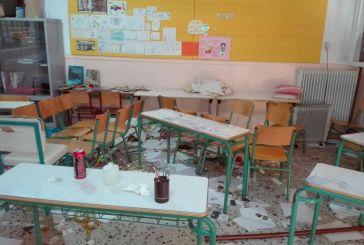 Οργή για τους βανδαλισμούς στο 5ο Δημοτικό Σχολείο Αγρινίου- «Γυαλιά-καρφιά» και διαρρήξεις