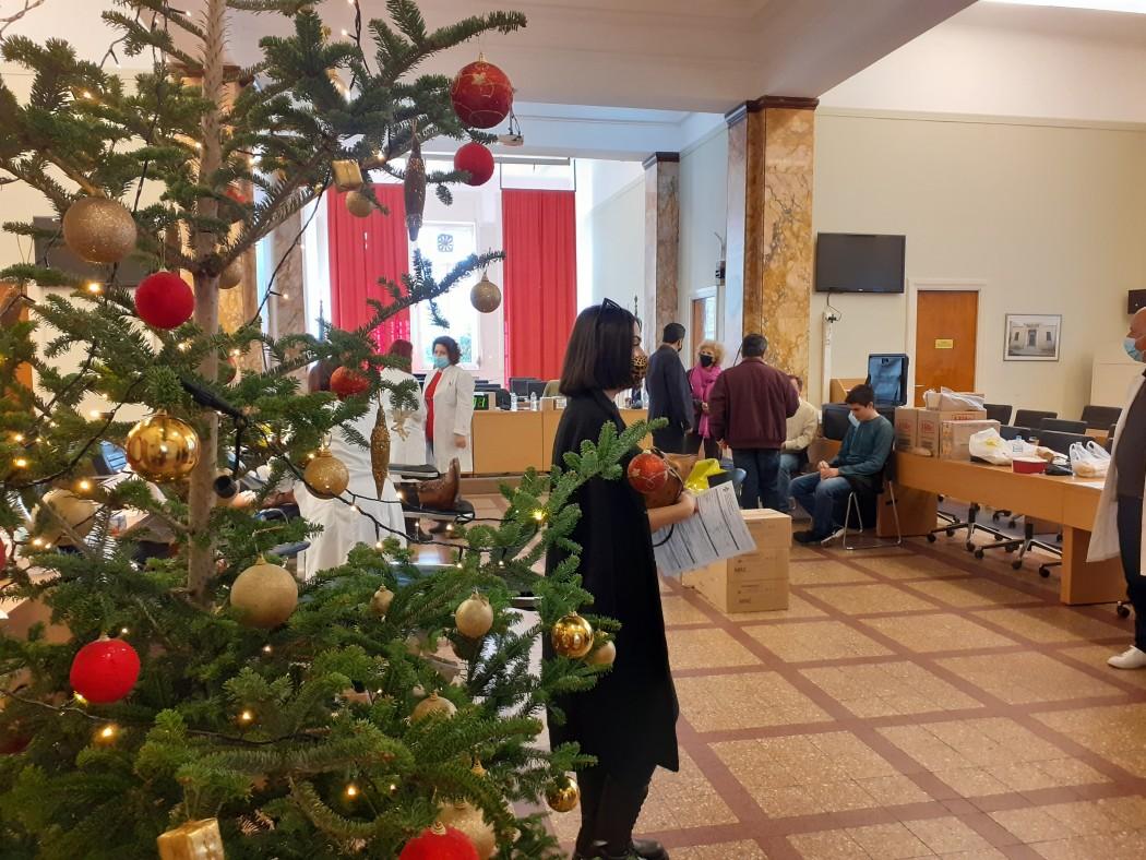 Αγρίνιο: εθελοντική αιμοδοσία στην αίθουσα του Δημοτικού Συμβουλίου