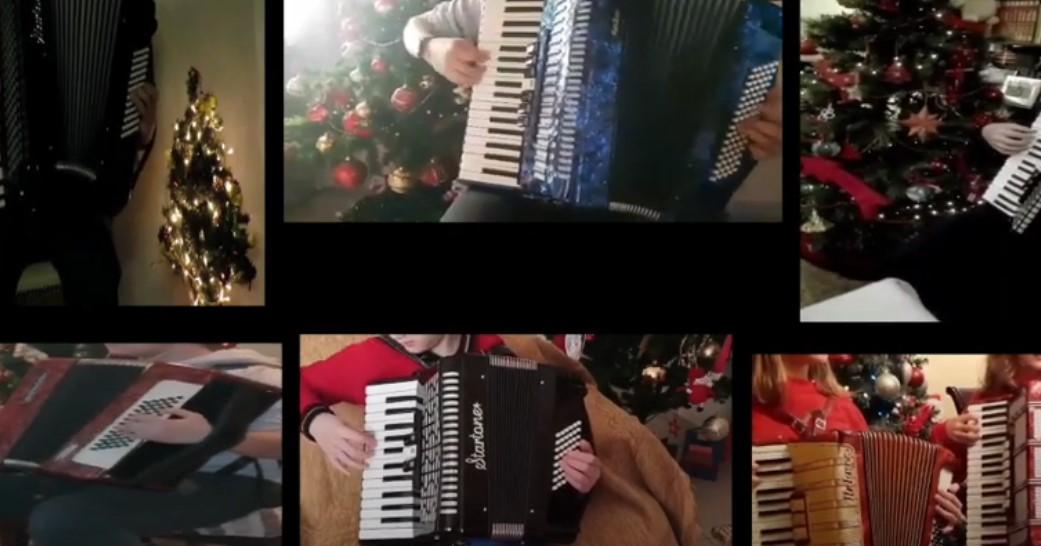 Διαδικτυακά κάλαντα χριστουγέννων από την ομάδα ακορντεόν της ΚΕΔΑ Αγρινίου (βίντεο)