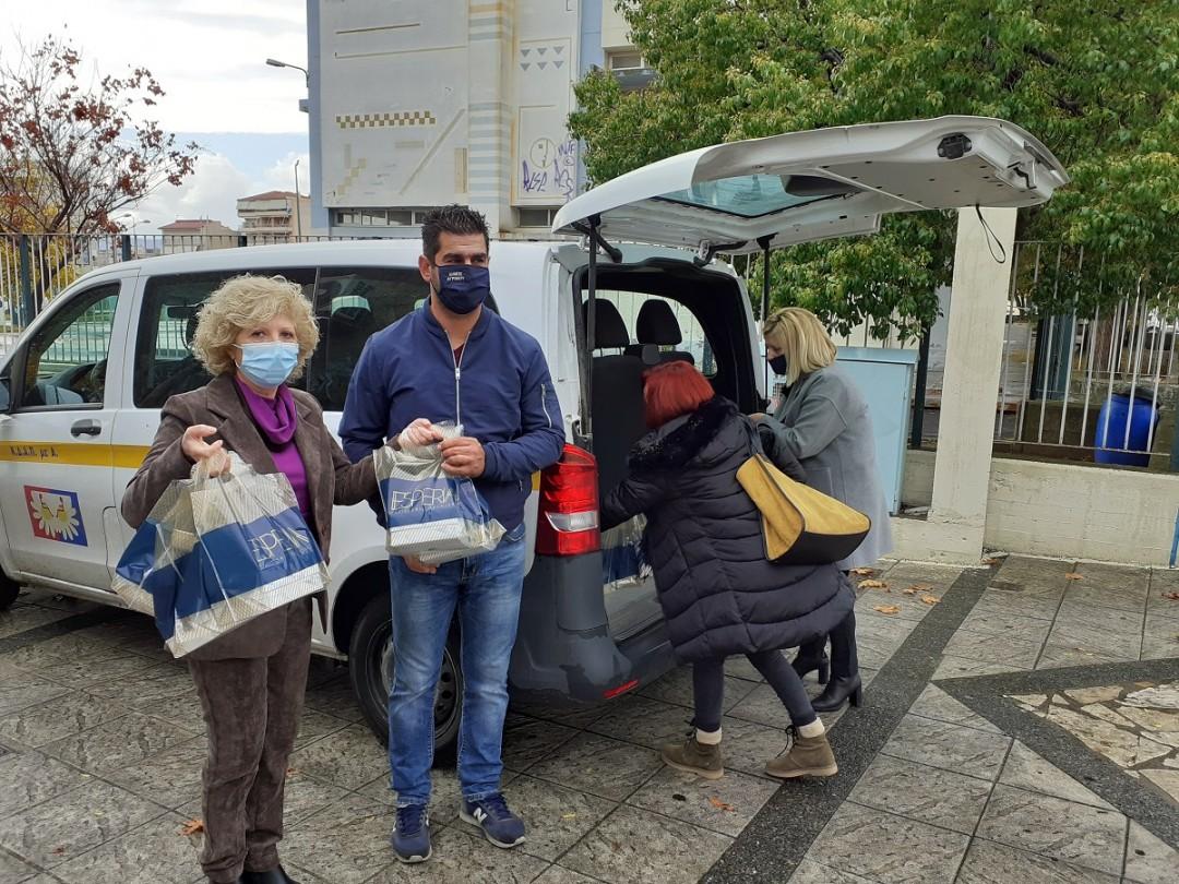 Aγρίνιο: η Ακτίνα Εθελοντισμού συνεχίζει την προσφορά