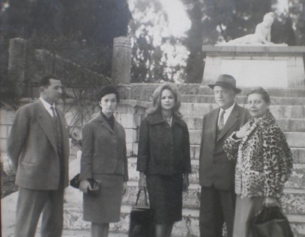 Η επίσκεψη της «εθνικής σταρ» Αλίκης Βουγιουκλάκη στο Μεσολόγγι το 1960
