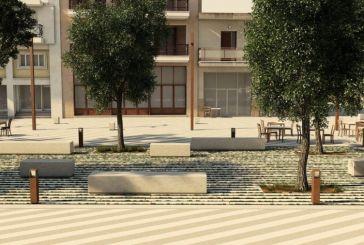 Εγκρίθηκε η μελέτη ανάπλασης της πλατείας Τζαβελλαίων στη Ναύπακτο