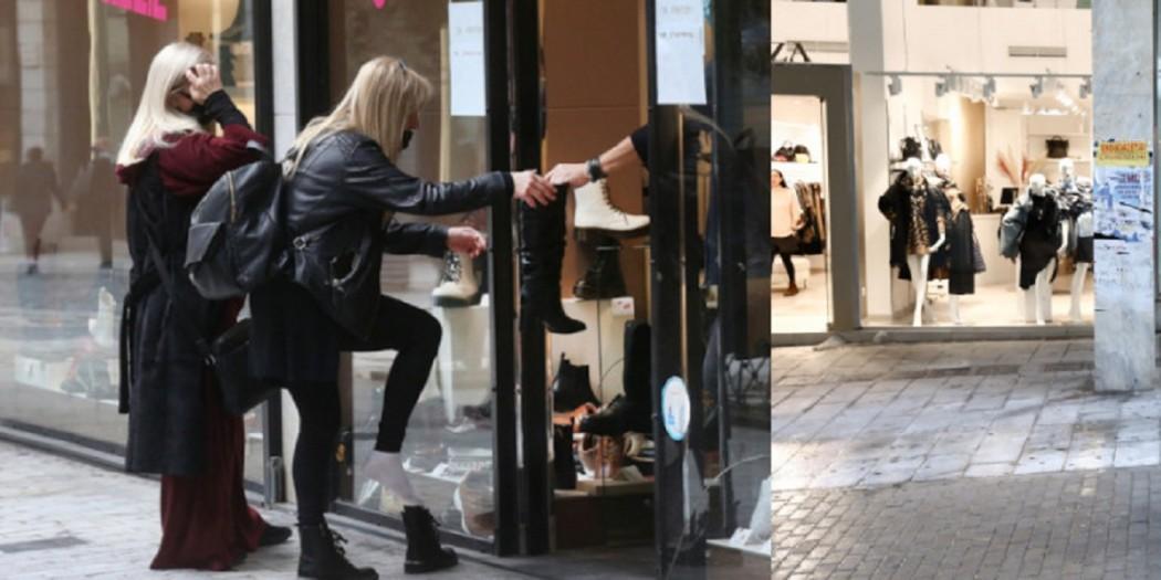 Γεωργιάδης για δοκιμή παπουτσιών: «Απαγορεύεται, μην παραβιάζετε τα μέτρα, θα σταματήσουμε το click away»
