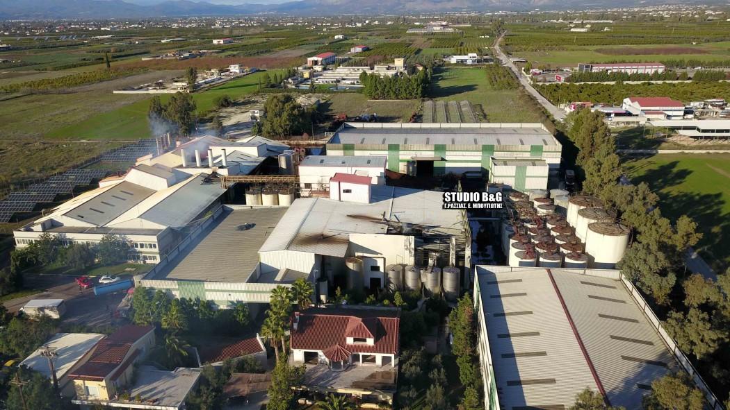 Τρομακτική έκρηξη σε πυρηνελαιουργείο συγκλόνισε Άργος και Ναύπλιο – Ένας τραυματίας